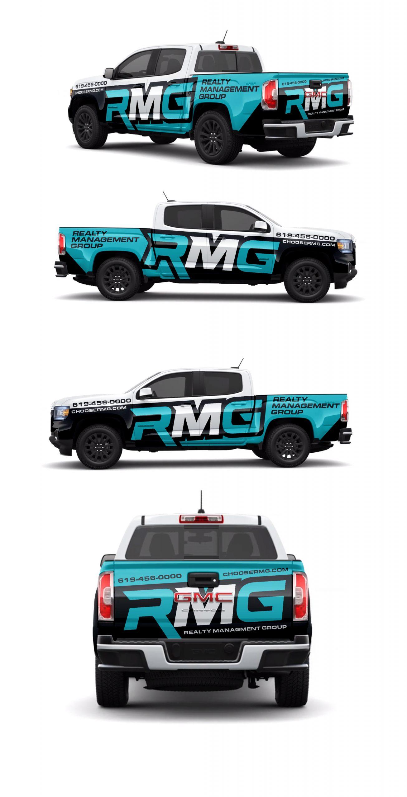 RMG Truck wrap