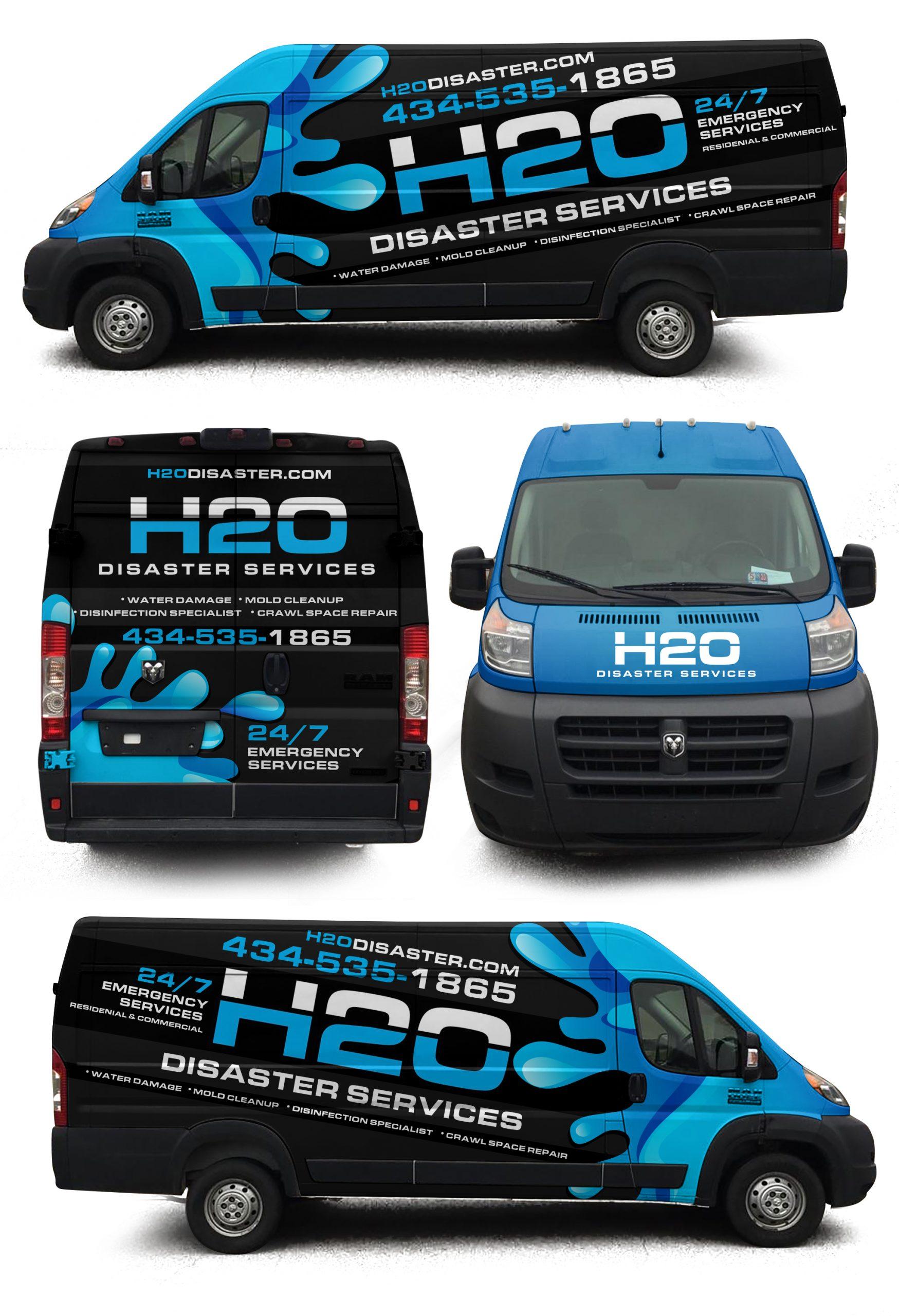 H20 Van wrap