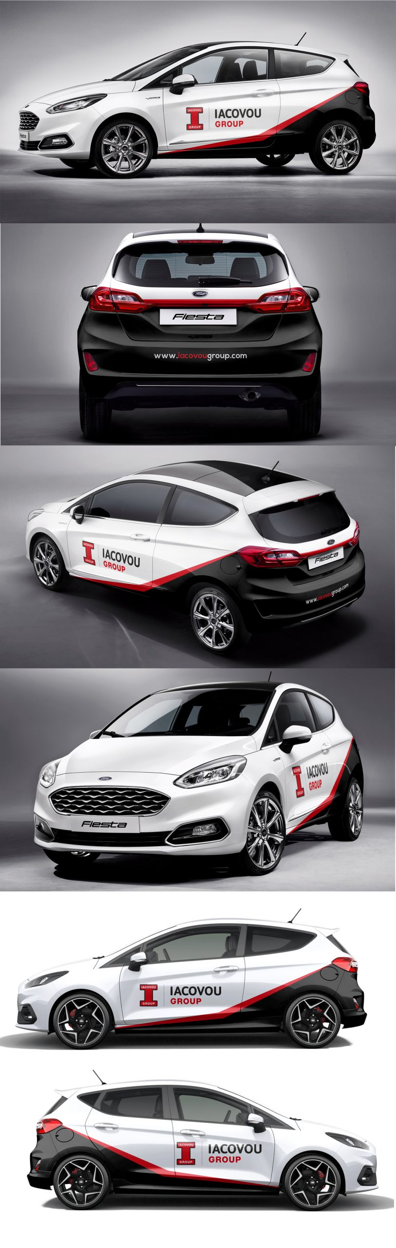 Iacovou Group Corporate Car Wrap for small cars