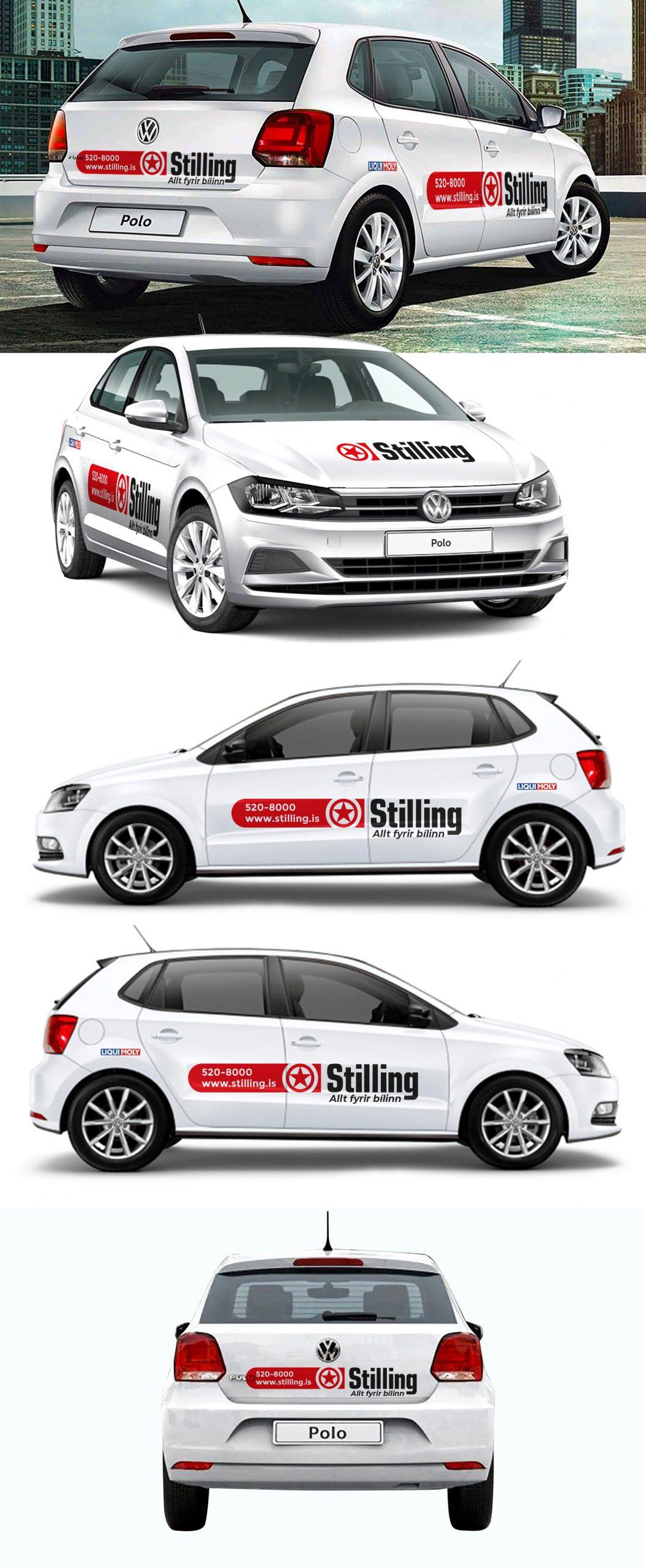 Stilling car wrap