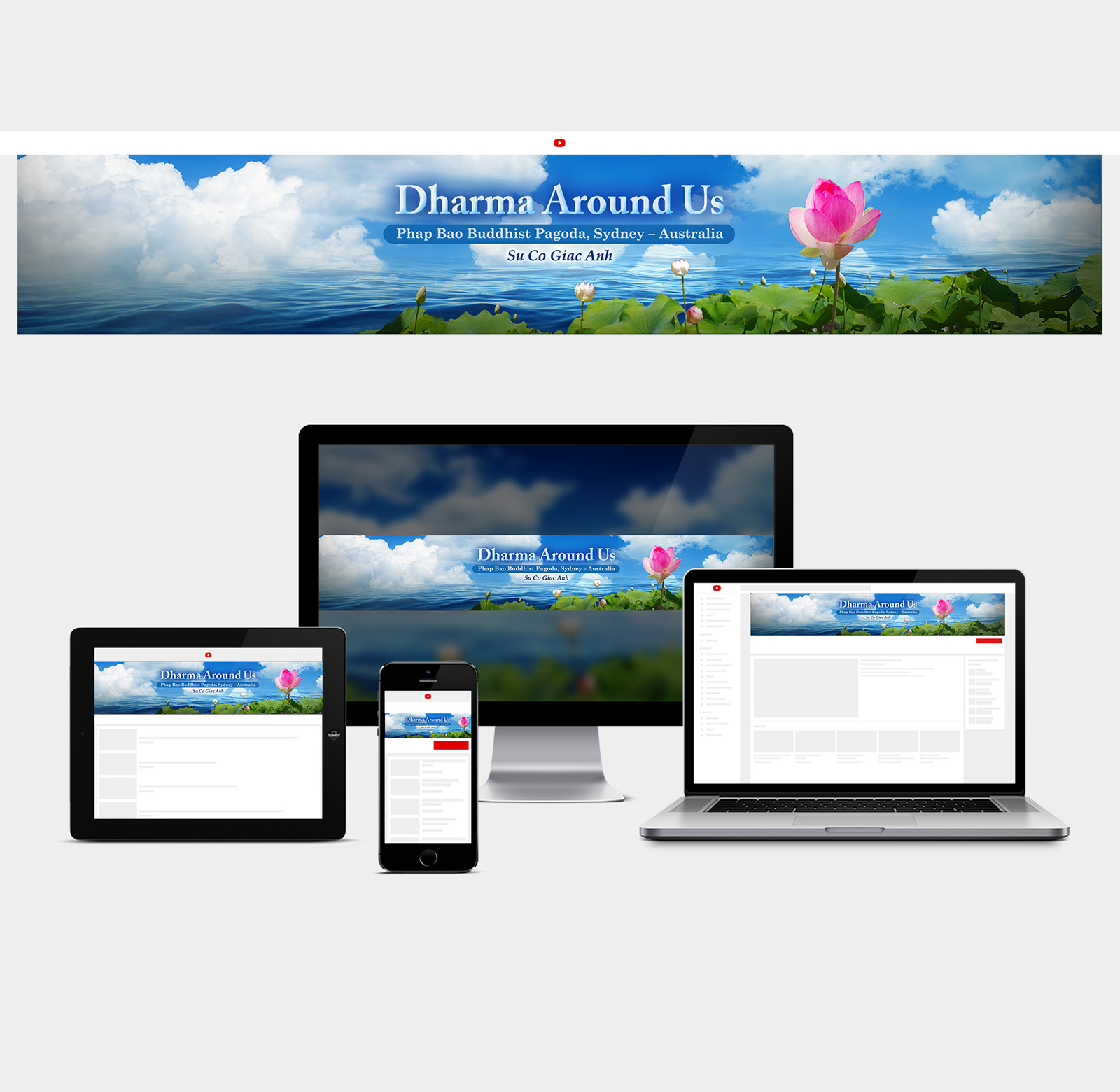 Dharma Around YouTube cover